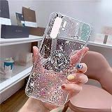 Uposao Kompatibel mit Huawei P30 Pro Hlle Glitzer Mdchen Frauen Diamant Glnzend Strass Bling...