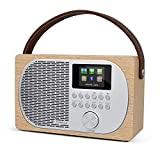 LEMEGA M2P Internet-Radio DAB/DAB+/FM mit Bluetooth, Internet-Radio mit Spotity Connect, WLAN,...