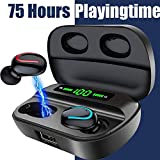 BIGFOX Bluetooth Kopfhörer,Bluetooth 5.0 in Ear kopfhörer mit Mikrofon,True Wireless in Ear...