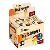 HELLO HEAT (Warmpack 40 Paar Zehenwärmer I Schuhheizung mit Wärmedauer von 7 Stunden I Sofort...