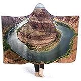 ZAlay Hufeisenbiegung in der Grand Canyon-Kapuzendecke Erwärmende Ganzkörperdecke