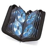 Hama CD Tasche für 120 Discs / CD / DVD / Blu-ray (Mappe zur Aufbewahrung , platzsparend für...