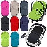 Fußsack / Sommerfußsack für Babyschale Kinderwagenschale Kinderwagen (BEIGE)