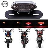 DREAMIZER Motorrad LED Rücklichter, 12V Motorrad Rückseite Licht Brechen Blinker Kontrollleuchte...