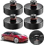 4 Stücke Wagenheber Gummiauflage Tesla Model 3 für Rangierwagenheber und Universal Gummiauflage...