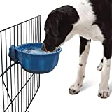 USB Hanging Heated Dog Bowl Für Haustiere, Outdoor Water Bowl Für Kleine Bis Große Hunde,...