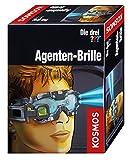 Kosmos Die drei ??? Agenten-Brille, mit integrierter Doppel-LED zur Beleuchtung im Dunkeln, Visier...