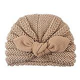 Bia Tobias Wintermütze für Mädchen, warm, gestrickt, mit Baumwolle gefüttert, für Kleinkinder,...