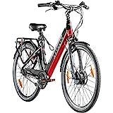 Zündapp E-Bike 28 Zoll E Cityrad Pedelec 700c Damenrad Seniorenrad Z902 Stadtrad Elektrofahrrad...