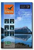 BLUE SWAN 100 Blatt A3 Superior Colour Laser Fotopapier Flyer Papier, 128g/qm, Glossy,glaenzend,...