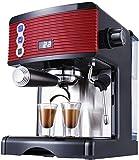 OGUAN Kaffeemaschine, Bean to Cup Barista Halbautomatische italienische Kaffeemaschine Freistehende...