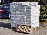 10kg - 120kg Holzbriketts Nestro im 10kg Karton Holz Briketts Rund Kamin Ofen Heiz Brikett Brennholz...