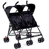 KimCC Leichte Kinderwagen Baby-Kinderwagen-Buggy Reise Pram Plume für...