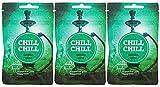 Chill Chill | Shisha Gum | Double Apple| Zuckerfreier Kaugummi mit Shishageschmack (3 x 32g)