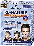 Schwarzkopf Re-Nature Re-Pigmentierung, Mnner Dunkel Stufe , 1er Pack ,2 x 50 ml Haarfrbemittel und...