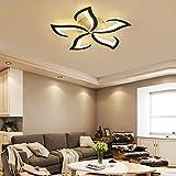 Moderne Dimmbare LED Blume Deckenleuchten Wohnzimmer Kinderzimmerlampe Kreative Blumenform Design...