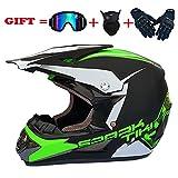 SSIK Crosshelm Kinder Motocross MX Helme Motorrad Crosshelme City Helme Motorrad Motocross...