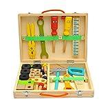 Kinder Reparatur Werkzeugkasten, Kinder Handwerkzeuge Pädagogisches Spielzeug Set, Spielzeug...