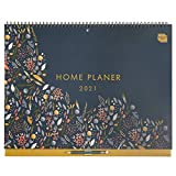 Boxclever Press Home Planer 2021. Kalender 2021 Familienplaner mit Monatsansicht. 16-monatiger...