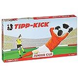 TIPP-KICK Junior Cup mit Bande 83x56 cm – Spielfertiges Set mit 2X Spieler, 2X Torwart, 2X...
