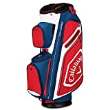 Callaway Golf 2019 Chev Org Cartbag, CART Bag, Marineblau/Weiß/Rot