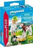 PLAYMOBIL Special Plus 70252 Tierrztin mit Klbchen, ab 4 Jahren