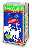 TierWohl Super Pferdeeinstreu Boxen Einstreu Weichholz Granulat, 24 kg