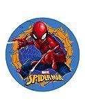 Dekora 114398 Spiderman Tortenaufleger aus Esspapier-20 cm