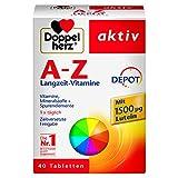 Doppelherz A-Z DEPOT Langzeit-Vitamine  Multivitamin-Nahrungsergnzungsmittel mit vielen wichtigen...
