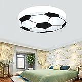 Waineg Kinderzimmer Licht Kreative Fuball Deckenleuchte Moderne LED Junge Mdchen Augenschutz...