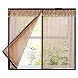Magnetisches Insektenschutz-Fenster, selbstklebend, für Schlafzimmer, Küche, Kinderzimmer etc.
