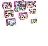 PLAYMOBIL Puppenhaus (Dollhouse) -Set (Artikel 70205,70206,70207,70208,70209,70210,70211), 70212