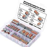 WiMas 60 Stück Compact Verbindungsklemmen, Kompakt Steckklemmen, Lever Nuts Set, Wire Push...