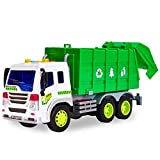 HERSITY 1:16 Müllauto Spielzeug LKW Autos mit Sound und Licht Müllwagen Kinder Großer Fahrzeuge...