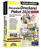 Das große Druckerei Paket 2020 - Einladungen, Glückwunsch Karten, Etiketten, CD-DVD Labels,...