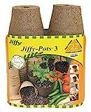 Jiffy JP322 Pots, 7,6 cm, 3 Stück