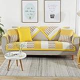 YUTJK Chenille Jacquard Sofa Pad, Anti Rutsch Sofa Slipcovers, Sofabezug Handtuch Schmutz Beweis,...