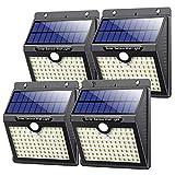 Solarlampen für Außen mit Bewegungsmelder,【Hohe Qualität 97LED-1000Lumen】VOOE Solarleuchte...