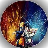 Fondant Tortenaufleger Tortenbild Geburtstag Naruto AMA12