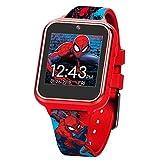 Marvel SPD4588AZ Armbanduhr für Jungen, Touchscreen, Silikonband, Rot, 19,5