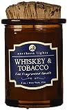 Northern Lights Kerze Whiskey und Tabak Spirituose, 150 ml
