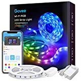 Govee Alexa LED Strip Lichtband, 5M RGB Smart WiFi LED Streifen,APP Steuerbar Musik LED Band...