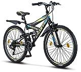 Licorne Bike Strong V Premium Mountainbike in 26 Zoll - Fahrrad für Jungen, Mädchen, Damen und...