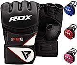 RDX MMA Handschuhe Profi Kampfsport Boxsack Sparring Training Grappling Gloves Freefight Sandsack...