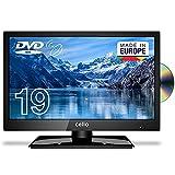 Cello C1920FSDE 19' (47 cm Diagonale) HD Ready LED TV mit eingebautem DVD Player und DVBT2 S2 Triple...