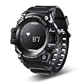 AUBERSIT Aktivittstracker Sport Smart Watch Herren OLED-Display Herzfrequenzmesser Multifunktion...
