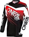 0008-304 - Oneal Element 2018 Racewear Motocross Jersey L Schwarz Rot