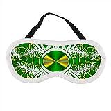 Tragbare Augenmaske für Männer und Frauen, abstraktes Fractal-Muster, die beste Schlafmaske für...