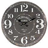 perla pd design Wanduhr Kchenuhr Vintage Design Cafe de Lagare ca.  28 cm