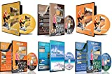 6 Disc Set Kombi Pack - Das Beste aus Asien virtuelle Walks und Cycling DVD Box Set für Laufband,...